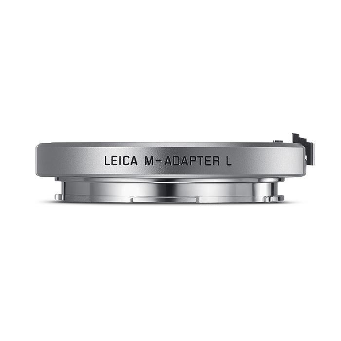 《新品》 Leica (ライカ) Mレンズアダプター ライカMレンズ/ライカSLTLボディ用 シルバー ボディ側対応機種:Leica TL2、TL、T(Typ701)、Leica SL(Typ601)【KK9N0D18P】