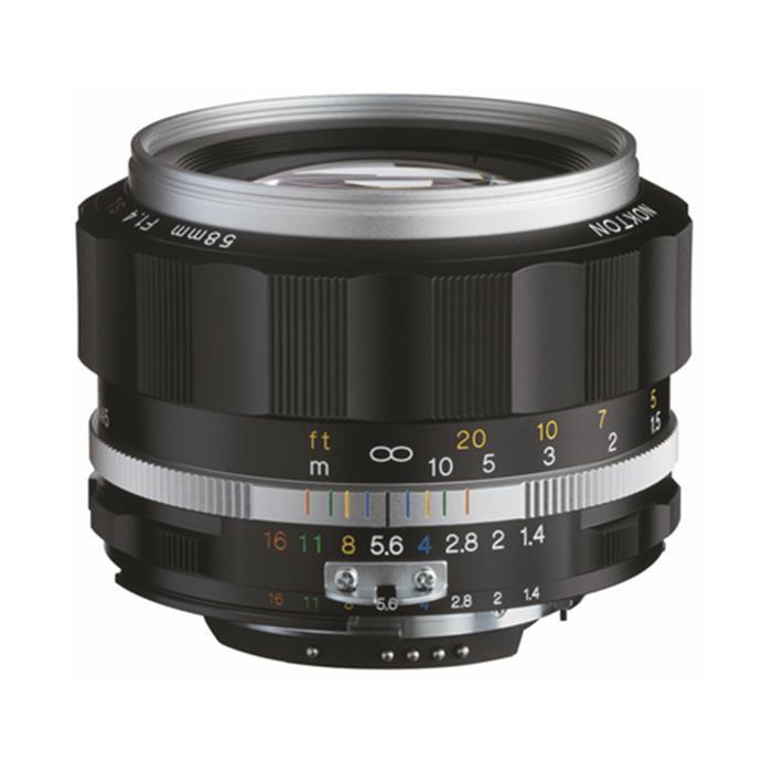 《新品》 Voigtlander (フォクトレンダー) NOKTON 58mm F1.4 SL II S(ニコンF用) シルバーリム [ Lens | 交換レンズ ]【KK9N0D18P】