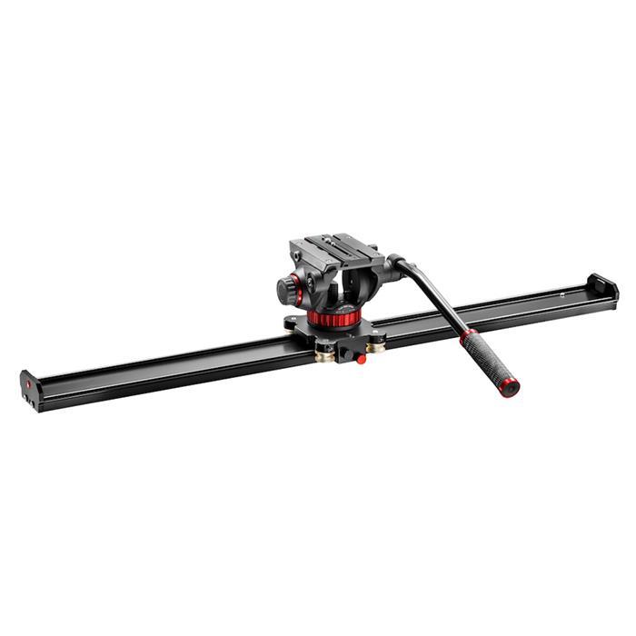 《新品アクセサリー》 Manfrotto(マンフロット) スライダー 100cm/MVH502AH付 MVS100AMVH502AH【KK9N0D18P】〔メーカー取寄品〕