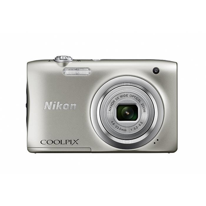 《新品》 Nikon (ニコン) COOLPIX A100 シルバー[ コンパクトデジタルカメラ ]【KK9N0D18P】※お一人様1点限り