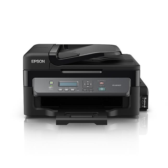 《新品アクセサリー》 EPSON(エプソン) A4モノクロ複合プリンター ecotank PX-M160T ※お一人様1台限りとさせて頂きます。〔メーカー取寄品〕【KK9N0D18P】