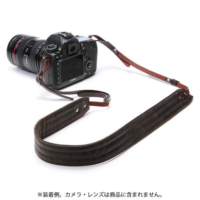 《新品アクセサリー》 ONA (オーエヌエー) カメラストラップ Leather Presidio ダークトリュフ【KK9N0D18P】