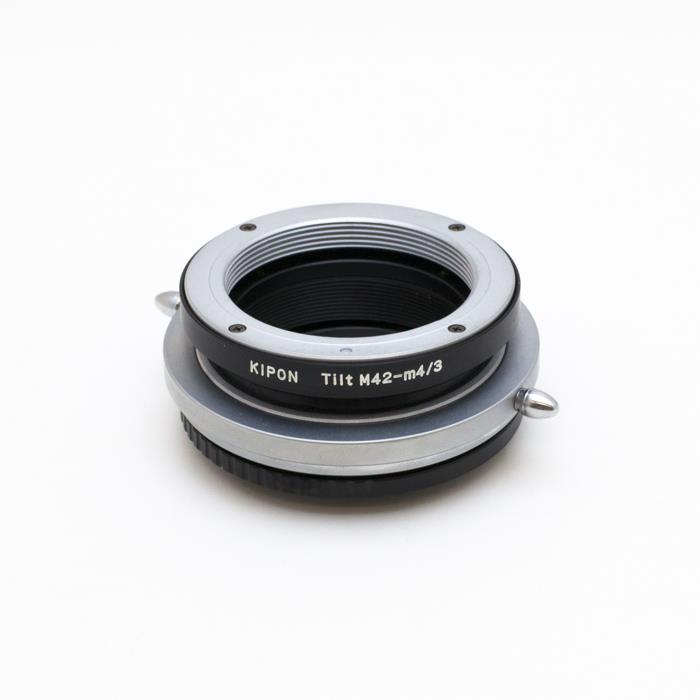 【あす楽】《新品アクセサリー》 KIPON (キポン)ティルトマウントアダプター M42レンズ/マイクロフォーサーズボディ用【特価品/在庫限り】