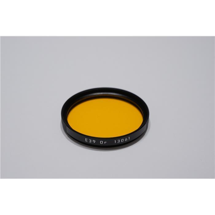 《新品アクセサリー》 Leica(ライカ) カラーフィルター E39 オレンジ【KK9N0D18P】