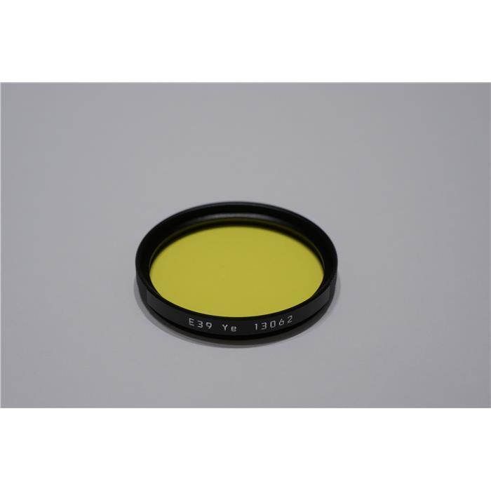 《新品アクセサリー》 Leica(ライカ) カラーフィルター E39 イエロー【KK9N0D18P】