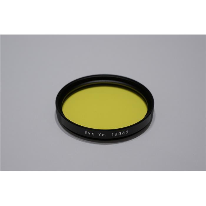 《新品アクセサリー》 Leica(ライカ) カラーフィルター E46 イエロー【KK9N0D18P】