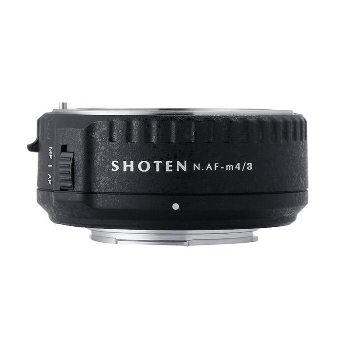 (ショウテン)電子マウントアダプター NAF-m43【KK9N0D18P】 ニコンFレンズ/マイクロフォーサーズボディ用 《新品アクセサリー》 SHOTEN