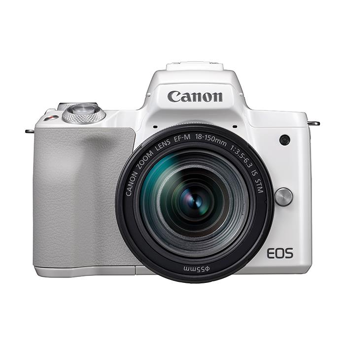 《新品》 Canon (キヤノン) EOS Kiss M EF-M18-150 IS STM レンズキット ホワイト【¥10,000-キャッシュバック対象】[ ミラーレス一眼カメラ | デジタル一眼カメラ | デジタルカメラ ]【KK9N0D18P】