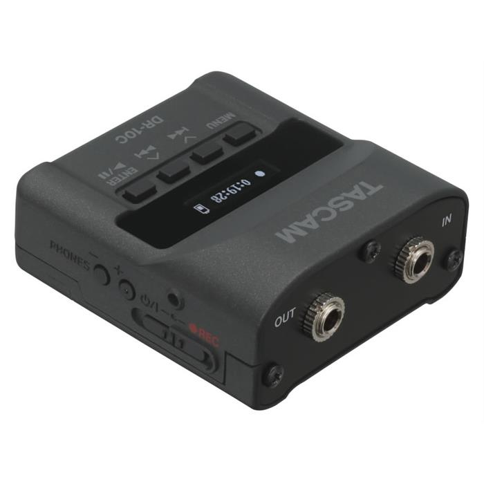 《新品アクセサリー》 TASCAM (タスカム) ワイヤレスマイクシステム用マイクロリニアPCMレコーダー DR-10CS【KK9N0D18P】〔メーカー取寄品〕