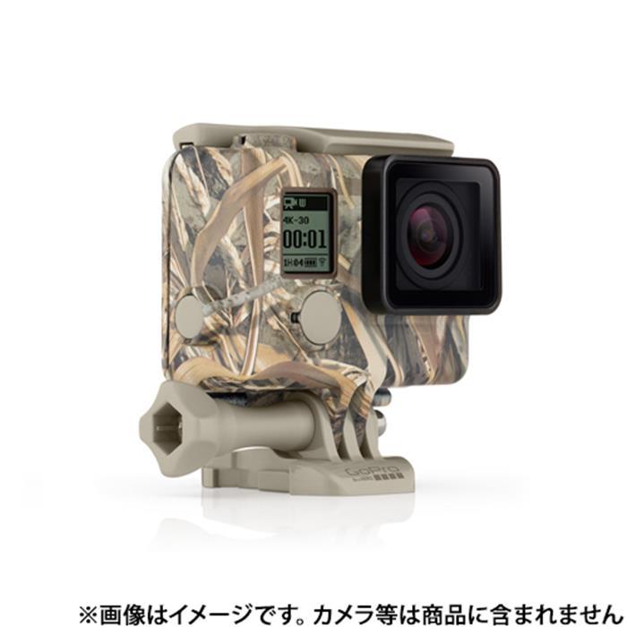 《新品アクセサリー》 GoPro (ゴープロ) カモフラージュハウジング+Quickclip (Realtree MAX-5) AHCSH-002 【KK9N0D18P】