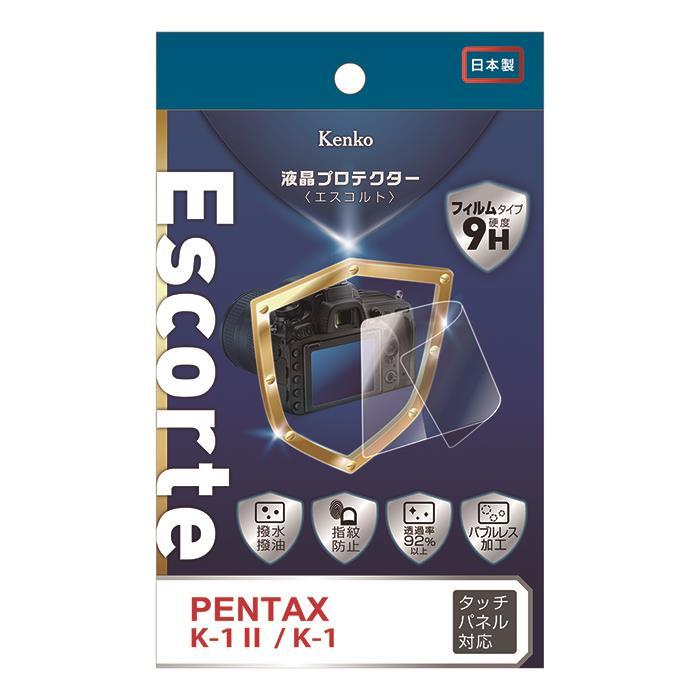 代引き手数料無料 《新品アクセサリー》 Kenko ケンコー デポー 液晶プロテクター Escorte PENTAX MarkII K-1 K-1用 KK9N0D18P 記念日