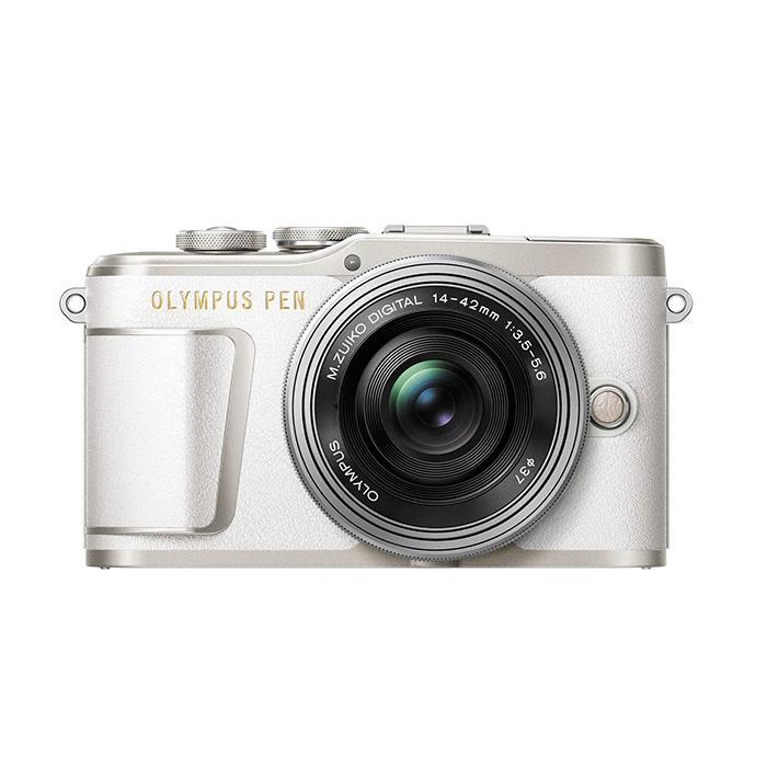 《新品》OLYMPUS (オリンパス) PEN E-PL9 14-42mm EZレンズキット ホワイト【在庫限り(生産完了品)】[ ミラーレス一眼カメラ | デジタル一眼カメラ | デジタルカメラ ] 【KK9N0D18P】