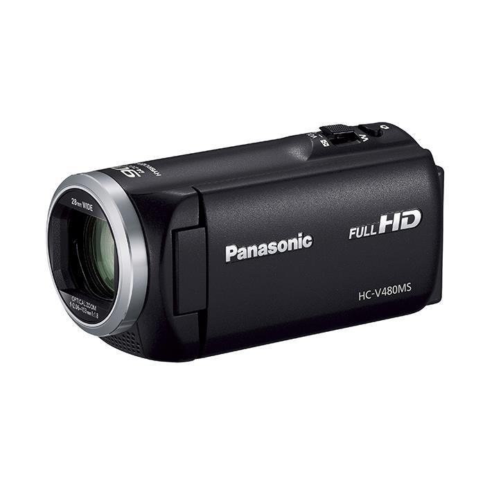 《新品》 Panasonic (パナソニック) デジタルハイビジョンビデオカメラ HC-V480MS-K ブラック [ ビデオカメラ ] 【KK9N0D18P】