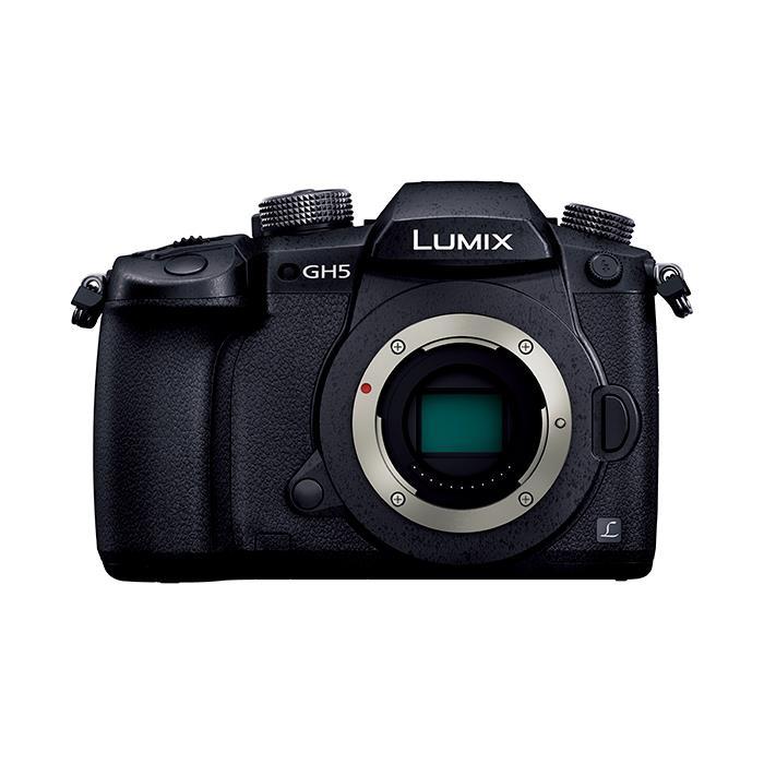 《新品》Panasonic (パナソニック)LUMIX DC-GH5 ボディ[ ミラーレス一眼カメラ | デジタル一眼カメラ | デジタルカメラ ]【KK9N0D18P】【下取交換なら¥13,000-引き】【アップグレードキー(DMW-SFU1)/バッテリーパック(DMW-BLF19)プレゼント】