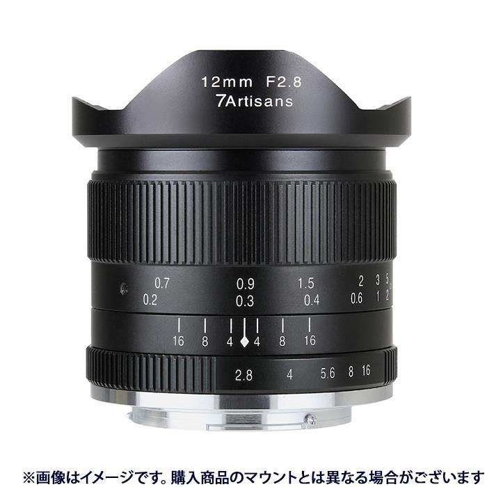 《新品》 七工匠 (しちこうしょう) 7Artisans 12mm F2.8 ブラック(マイクロフォーサーズ用)[ Lens | 交換レンズ ]【KK9N0D18P】