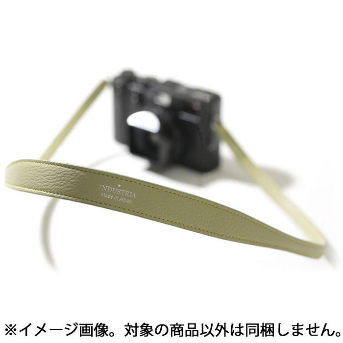 《新品アクセサリー》 INDUSTRIA(インダストリア) シュリンクレザーストラップ 95cm 二重カンタイプ IND-520-LOV ライトオリーブ【KK9N0D18P】 [ ストラップ ]