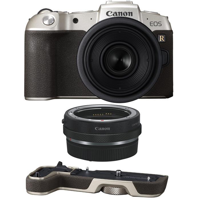 《新品》 Canon EOS RP RF35 MACRO IS STM マウントアダプターSPキット ゴールド[ ミラーレス一眼カメラ | デジタル一眼カメラ | デジタルカメラ ]【KK9N0D18P】【RF24-105/4Lと同時購入でキャッシュバック等】【限定5,000台】