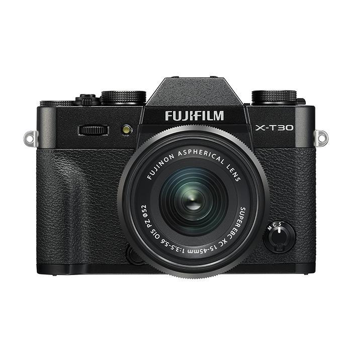 《新品》 FUJIFILM (フジフイルム) X-T30 XC15-45mmレンズキット ブラック [ ミラーレス一眼カメラ | デジタル一眼カメラ | デジタルカメラ ]【KK9N0D18P】
