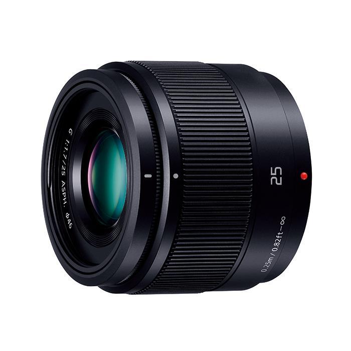 《新品》 Panasonic(パナソニック) LUMIX G 25mm F1.7 ASPH. ブラック [ Lens | 交換レンズ ]【KK9N0D18P】