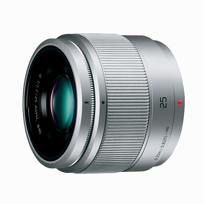 《新品》 Panasonic(パナソニック) LUMIX G 25mm F1.7 ASPH. シルバー[ Lens | 交換レンズ ]【KK9N0D18P】