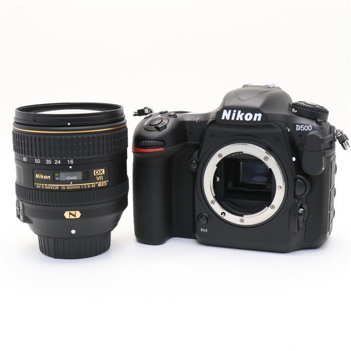 【あす楽】 【中古】 《並品》 Nikon D500 16-80 VR レンズキット [ デジタルカメラ ]