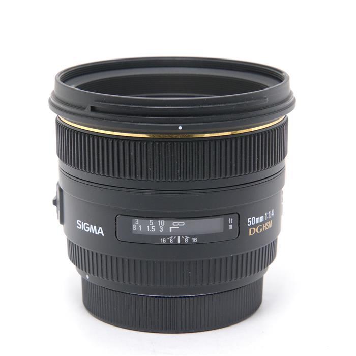 【あす楽】 【中古】 《並品》 SIGMA 50mm F1.4 EX DG HSM(キヤノン用) [ Lens | 交換レンズ ]