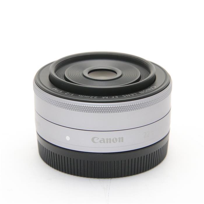 【あす楽】 【中古】 《美品》 Canon EF-M22mm F2 STM シルバー [ Lens   交換レンズ ]