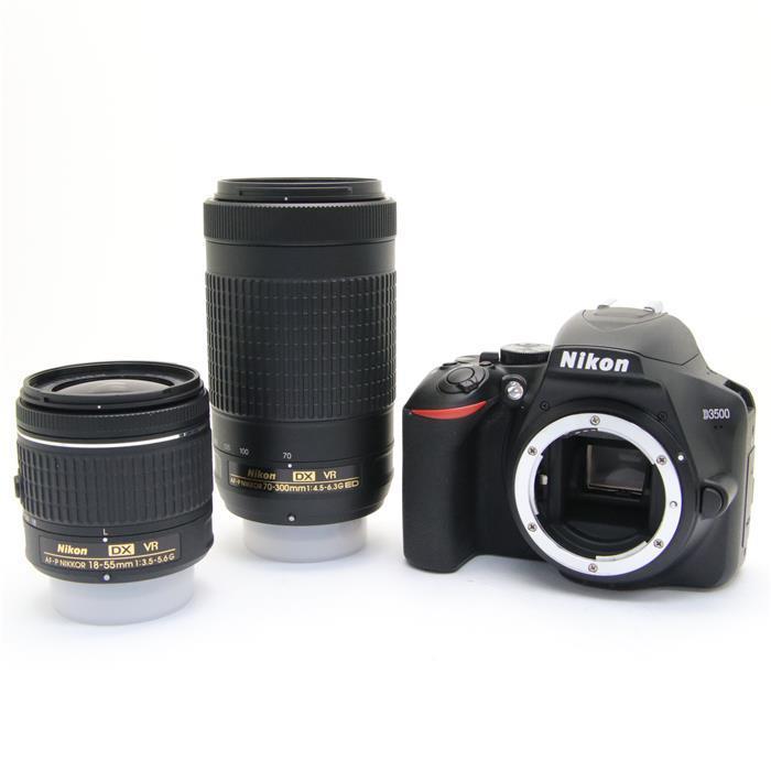【あす楽】 【中古】 《美品》 Nikon D3500 ダブルズームキット [ デジタルカメラ ]
