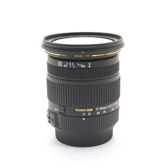 【あす楽】 【中古】 《美品》 SIGMA 17-50mm F2.8 EX DC HSM(ソニーα用) [ Lens | 交換レンズ ]