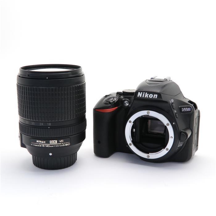 【代引き手数料無料!】 【あす楽】 【中古】 《並品》 Nikon D5500 18-140 VR レンズキット ブラック [ デジタルカメラ ]