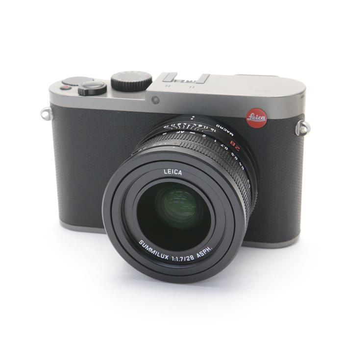 【あす楽】 【中古】 《並品》 Leica Q(Typ116) チタングレー 【ライカカメラジャパンにてセンサークリーニング/各部点検済】 [ デジタルカメラ ]