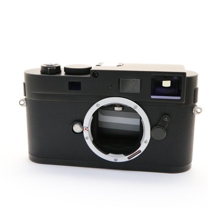 【あす楽】 【中古】 《良品》 Leica Mモノクローム ブラッククローム 【ライカカメラジャパンにてオーバーホール済】 [ デジタルカメラ ]
