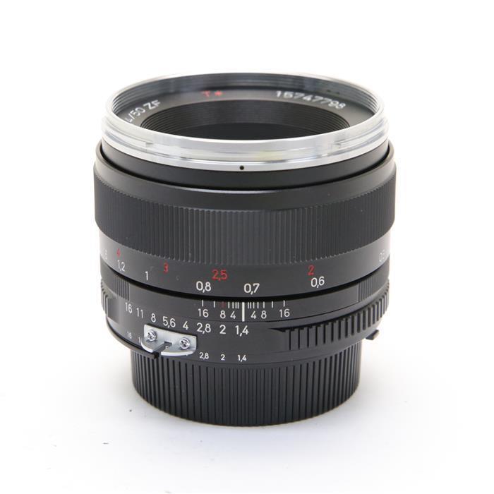 【あす楽】 【中古】 《美品》 Carl Zeiss PlanarT* 50mm F1.4 ZF(ニコンF用) [ Lens | 交換レンズ ]