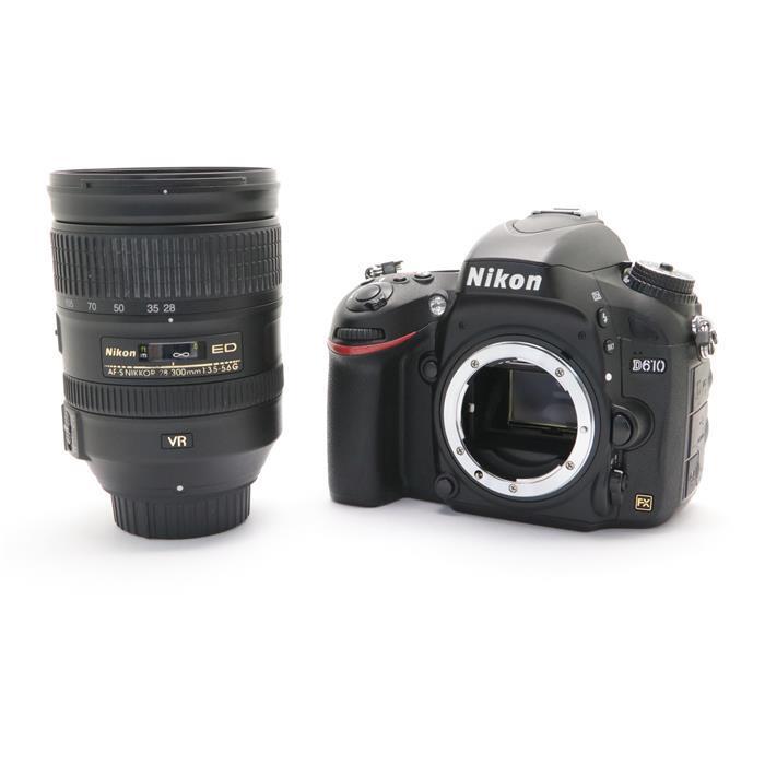 【あす楽】 【中古】 《並品》 Nikon D610 28-300 VR レンズキット [ デジタルカメラ ]