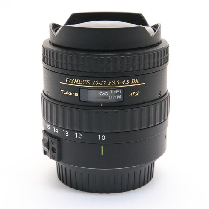 【あす楽】 【中古】 《良品》 Tokina AT-X 107DX Fisheye(AF10-17mm F3.5-4.5)(キヤノン用) [ Lens | 交換レンズ ]