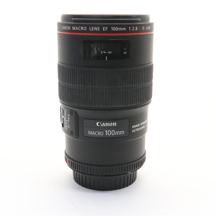 【あす楽】 【中古】 《並品》 Canon EF100mm F2.8Lマクロ IS USM [ Lens   交換レンズ ]