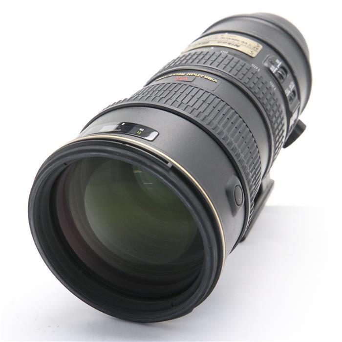 【あす楽】 【中古】 《難有品》 Nikon AF-S VR ED 70-200mm F2.8 G(IF) ブラック [ Lens | 交換レンズ ]