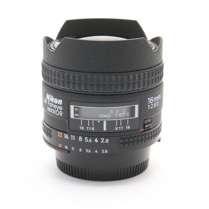 【あす楽】 【中古】 《並品》 Nikon Ai AF Fisheye-Nikkor 16mm F2.8D [ Lens | 交換レンズ ]