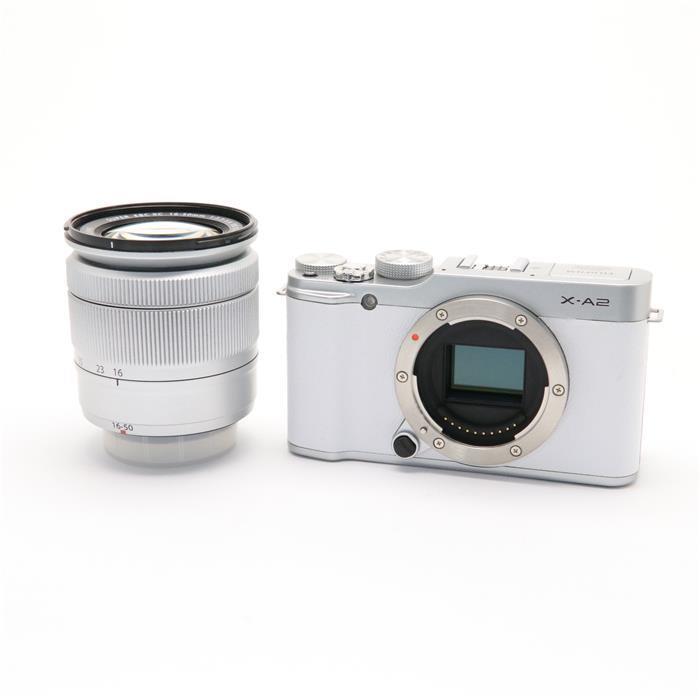【あす楽】 【中古】 《良品》 FUJIFILM X-A2 レンズキット ホワイト [ デジタルカメラ ]