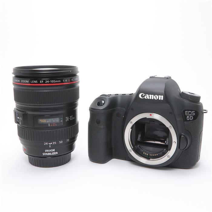 【代引き手数料無料!】 【あす楽】 【中古】 《並品》 Canon EOS 6D EF24-105L レンズキット [ デジタルカメラ ]