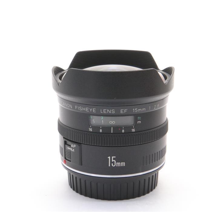 【あす楽】 【中古】 《良品》 Canon EF15mm F2.8 フィッシュアイ [ Lens | 交換レンズ ]
