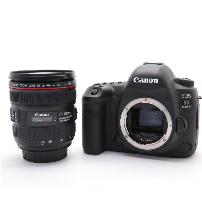 【あす楽】 【中古】 《美品》 Canon EOS 5D Mark IV EF24-70 F4L IS USM レンズキット [ デジタルカメラ ]