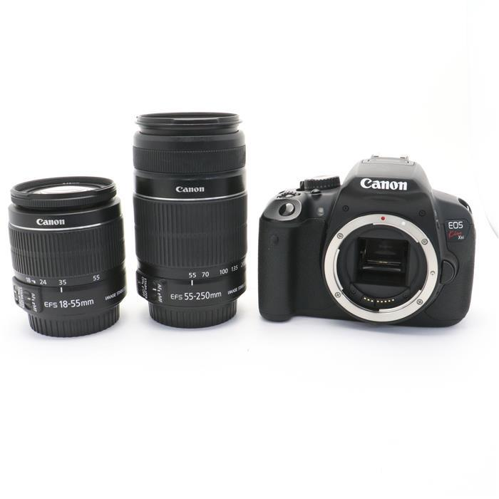 【あす楽】 【中古】 《並品》 Canon EOS Kiss X6i ダブルズームレンズキット [ デジタルカメラ ]