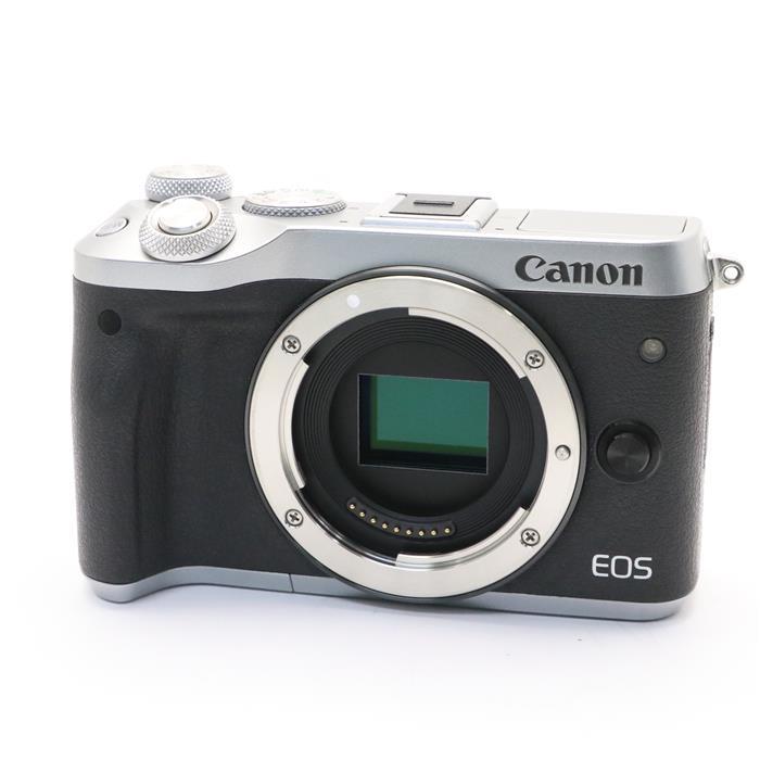 【あす楽】 【中古】 《美品》 Canon EOS M6 ボディ シルバー [ デジタルカメラ ]