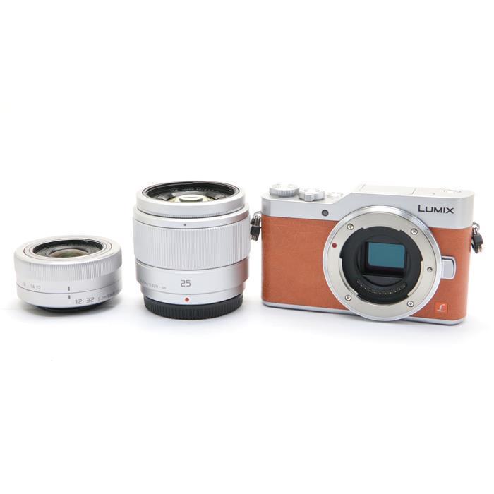 【あす楽】 【中古】 《良品》 Panasonic LUMIX DC-GF9W ダブルレンズキット オレンジ [ デジタルカメラ ]