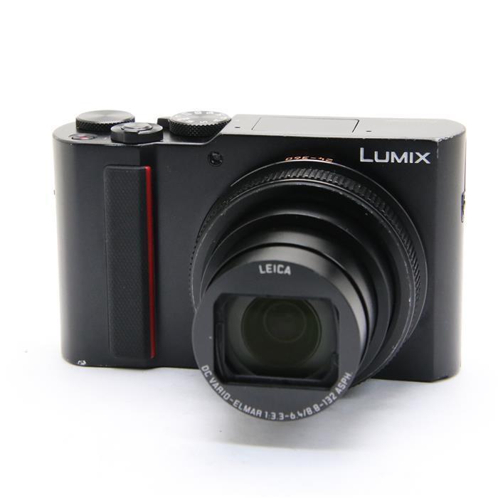 【あす楽】 【中古】 《並品》 Panasonic LUMIX DC-TX2 ブラック [ デジタルカメラ ]
