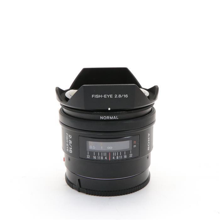 【あす楽】 【中古】 《並品》 SONY 16mm F2.8 Fisheye SAL16F28 [ Lens | 交換レンズ ]