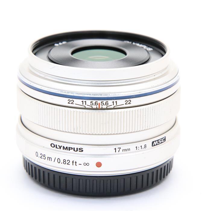【あす楽】 【中古】 《並品》 OLYMPUS M.ZUIKO DIGITAL 17mm F1.8 シルバー (マイクロフォーサーズ) [ Lens   交換レンズ ]