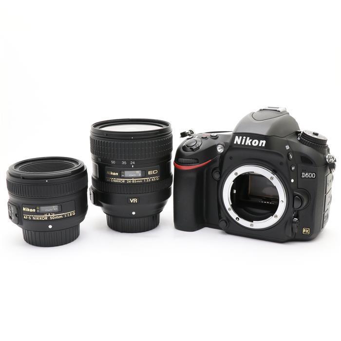 【代引き手数料無料!】 【あす楽】 【中古】 《並品》 Nikon D600 ダブルレンズキット [ デジタルカメラ ]