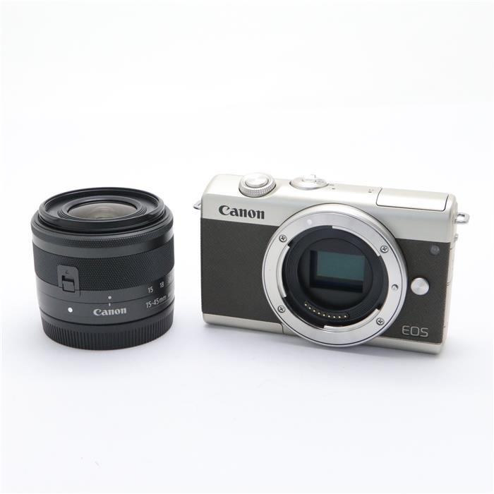 【代引き手数料無料!】 【あす楽】 【中古】 《美品》 Canon EOS M200 EF-M15-45 IS STM レンズキット リミテッドゴールド [ デジタルカメラ ]